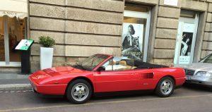 Ferrari oder Freiheit - manchmal geht finanziell nur eins von beidem. (Foto: Bomsdorf)