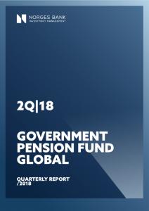 Halbjahresbericht 1 2018 des norwegischen Ölfonds (Abbildung: NBIM).