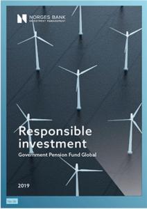 NBIM Bericht Responsible Investment 2019.